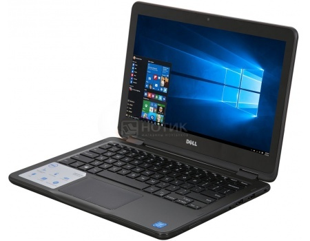 Ноутбук Dell Inspiron 3168 (11.6 LED/ Pentium Quad Core N3710 1600MHz/ 4096Mb/ HDD 500Gb/ Intel HD Graphics 405 64Mb) MS Windows 10 Home (64-bit) [3168-8766]