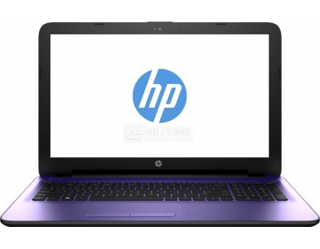 Ноутбук HP 15-ay513ur (15.6 LED/ Pentium Quad Core N3710 1600MHz/ 4096Mb/ HDD 500Gb/ Intel HD Graphics 405 64Mb) MS Windows 10 Home (64-bit) [Y6F67EA]