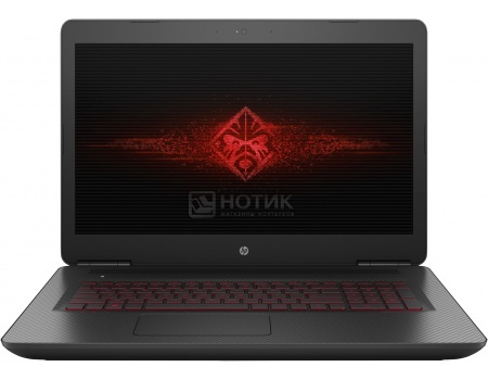 Ноутбук HP Omen 17-w100ur (17.3 IPS (LED)/ Core i5 6300HQ 2300MHz/ 8192Mb/ HDD+SSD 1000Gb/ NVIDIA GeForce® GTX 1060 6144Mb) MS Windows 10 Home (64-bit) [X9X96EA]HP<br>17.3 Intel Core i5 6300HQ 2300 МГц 8192 Мб DDR4-2133МГц HDD+SSD 1000 Гб MS Windows 10 Home (64-bit), Черный<br>