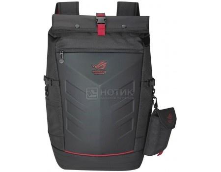 Рюкзак 17 Asus Ranger Backpack Gucci, Нейлон, Черный/Красный 90XB0310-BBP010