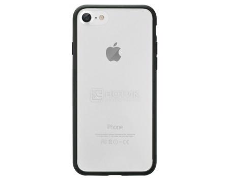 Защитный бампер + чехол-накладка для iPhone 7 Ozaki O!coat 0.3 Jelly OC738BK, Пластик, Черный