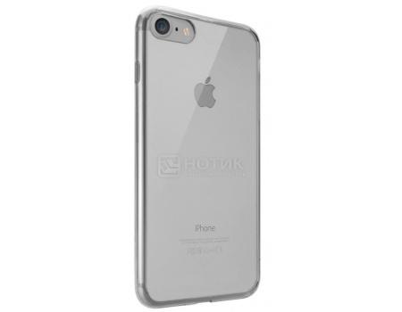 Чехол-накладка для iPhone 7 Ozaki O!coat Crystal+ OC739BK, Пластик, Прозрачный/Черный