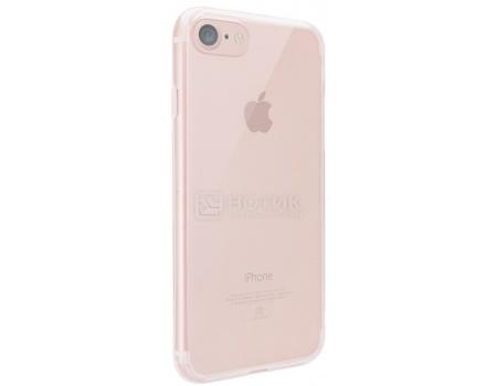 Чехол-накладка для iPhone 7 Ozaki O!coat Crystal  OC739PK, Пластик, Прозрачный/Розовый, арт: 47662 - Ozaki