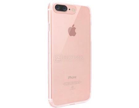 Чехол-накладка для iPhone 7 Plus Ozaki O!coat Crystal+ OC747PK, Пластик, Прозрачный/Розовый