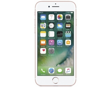 Защищенные смартфоны Apple iPhone 7 32Gb Rose Gold (iOS 10/A10 Fusion 2340MHz/4.7