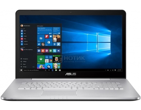 Ноутбук ASUS N752VX-GC274T (17.3 IPS (LED)/ Core i5 6300HQ 2300MHz/ 8192Mb/ HDD+SSD 2000Gb/ NVIDIA GeForce® GTX 950M 4096Mb) MS Windows 10 Home (64-bit) [90NB0AY1-M03310]