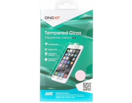 Защитное стекло ONEXT для Apple iPhone 7, 3D Белый 41158ONEXT<br>Защитное стекло ONEXT для Apple iPhone 7, 3D Белый 41158<br>