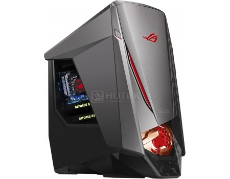 Системный блок Asus ROG GT51CA (0.0 / Core i7 6700K 4000MHz/ 16384Mb/ HDD+SSD 3000Gb/ NVIDIA GeForce® GTX 1080x2 SLI 8192Mb) MS Windows 10 Home (64-bit) [90PD01S1-M03760]