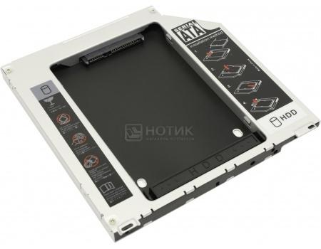 "Переходник Optibay Espada SS95U для установки в ноутбук HDD/SSD 2.5"" вместо DVD-привода (9,5mm) от Нотик"