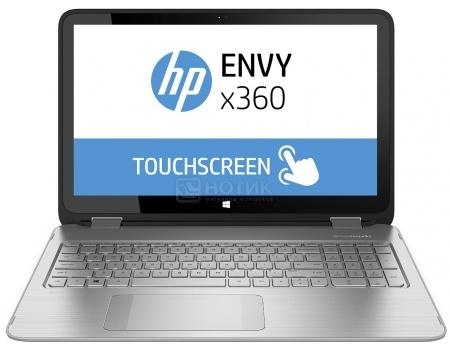 Ноутбук HP Envy x360 15-aq102ur (15.6 IPS (LED)/ Core i7 7500U 2700MHz/ 16384Mb/ HDD 2000Gb/ Intel HD Graphics 620 64Mb) MS Windows 10 Home (64-bit) [Y5V49EA]HP<br>15.6 Intel Core i7 7500U 2700 МГц 16384 Мб DDR4-2133МГц HDD 2000 Гб MS Windows 10 Home (64-bit), Серебристый<br>