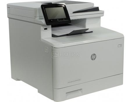 МФУ лазерное цветное HP Color LaserJet Pro M377dw, A4, ADF, дуплекс, 24/24 стр/мин, 256Мб, USB, LAN, WiFi, Белый M5H23A