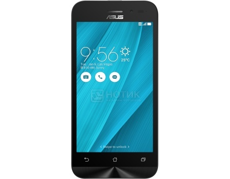Смартфон Asus Zenfone Go ZB450KL Silver Blue (Android 6.0 (Marshmallow)/MSM8916 1200MHz/4.5