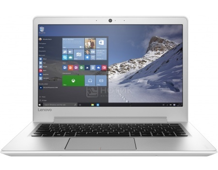 Ноутбук Lenovo IdeaPad 510s-13 (13.3 IPS (LED)/ Core i3 6100U 2300MHz/ 4096Mb/ HDD 500Gb/ Intel HD Graphics 520 64Mb) MS Windows 10 Home (64-bit) [80SJ003CRK]
