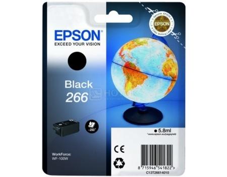 Картридж Epson T266 для WF-100W , Черный C13T26614010