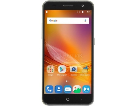 Смартфон ZTE Blade V7 Gold (Android 6.0 (Marshmallow)/MT6753 1300MHz/5.2