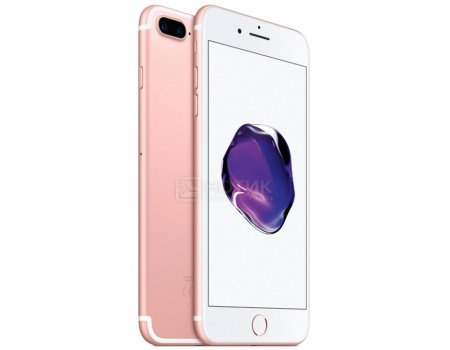 "Фотография товара смартфон Apple iPhone 7 Plus 128Gb Rose Gold (iOS 10/A10 Fusion 2340MHz/5.5"" 1920x1080/3072Mb/128Gb/4G LTE ) [MN4U2RU/A] (47966)"