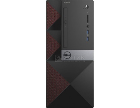 Системный блок Dell Vostro 3650 MT (0.0 / Pentium Dual Core G4400 3300MHz/ 4096Mb/ HDD 500Gb/ Intel HD Graphics 510 64Mb) Linux OS [3650-0236]