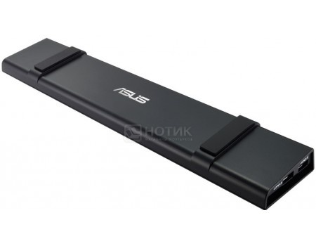 Док-станция ASUS USB 3.0 HZ-3A Docking Station (USB 3.0 in, 4 x USB 3.0, mic, audio, 10/100 LAN, DVI-I , HDMI,) 90XB027N-BDS020