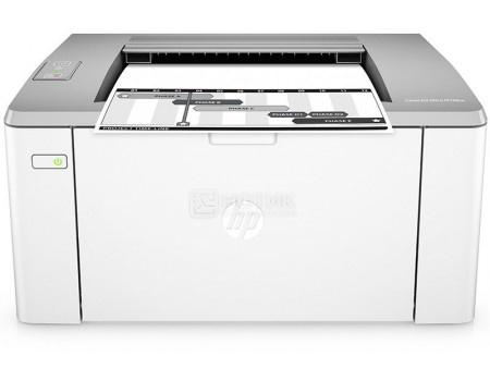 Фотография товара принтер лазерный монохромный HP LaserJet Ultra M106w, A4, 22 стр/мин, 128Мб, USB, WiFi, Белый G3Q39A (48068)