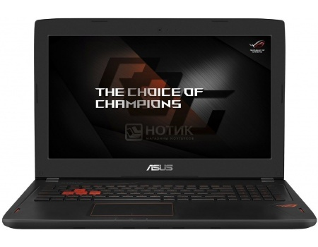 Ноутбук Asus GL502VM (15.6 IPS (LED)/ Core i7 6700HQ 2600MHz/ 16384Mb/ HDD+SSD 1000Gb/ NVIDIA GeForce GTX 1060 6144Mb) MS Windows 10 Home (64-bit) [90NB0DR1-M00950]