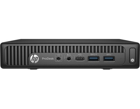 Системный блок HP ProDesk 600 G2 Mini (0.0 / Pentium Dual Core G4400T 2900MHz/ 4096Mb/ HDD 500Gb/ Intel HD Graphics 510 64Mb) MS Windows 7 Professional (64-bit) [T4J50EA]