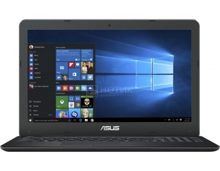 Ноутбук ASUS X556UQ-XO322T (15.6 LED/ Core i5 6200U 2300MHz/ 4096Mb/ HDD 1000Gb/ NVIDIA GeForce GT 940MX 2048Mb) MS Windows 10 Home (64-bit) [90NB0BH1-M03880]