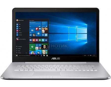 Ноутбук Asus N752VX (17.3 IPS (LED)/ Core i7 6700HQ 2500MHz/ 12288Mb/ HDD+SSD 2000Gb/ NVIDIA GeForce® GTX 950M 4096Mb) MS Windows 10 Professional (64-bit) [90NB0AY1-M03300]