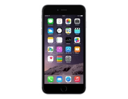 "Фотография товара смартфон Apple iPhone 6s Plus 32Gb Space Gray (iOS 10/A9 1840MHz/5.5"" 1920x1080/2048Mb/32Gb/4G LTE ) [MN2V2RU/A] (48273)"