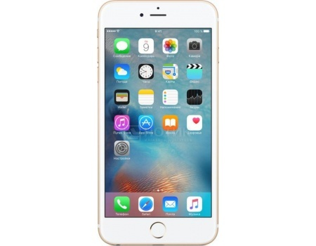 Смартфон Apple iPhone 6s Plus 32Gb Gold (iOS 10/A9 1840MHz/5.5* 1920x1080/2048Mb/32Gb/4G LTE ) [MN2X2RU/A], арт: 48274 - Apple