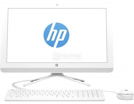 Фотография товара моноблок HP 24-g110ur (23.8 IPS (LED)/ Pentium Quad Core J3710 1600MHz/ 4096Mb/ HDD 1000Gb/ Intel HD Graphics 405 64Mb) MS Windows 10 Home (64-bit) [Y0Z64EA] (48284)