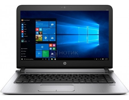 Ноутбук HP ProBook 440 G3 (14.0 LED/ Core i7 6500U 2500MHz/ 8192Mb/ SSD 256Gb/ Intel HD Graphics 5500 64Mb) MS Windows 7 Professional (64-bit) [W4P09EA]