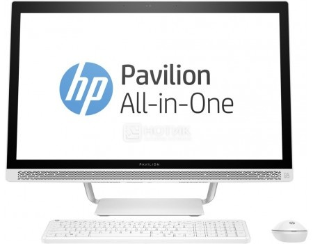 Моноблок HP Pavilion 27-a130ur (27.0 IPS (LED)/ Core i3 6100T 3200MHz/ 4096Mb/ HDD+SSD 1000Gb/ NVIDIA GeForce GT 930A 2048Mb) Free DOS [Z0K53EA]