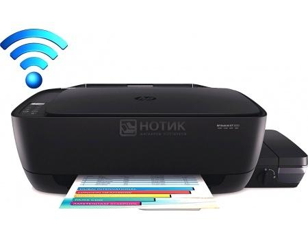 МФУ струйное цветное HP Deskjet GT 5820, A4, 8/5 стр/мин, USB, WiFi, СНПЧ Черный X3B09A