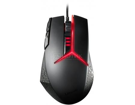 Фотография товара мышь проводная Lenovo Y Gaming Precision, 8200dpi, Черный GX30J07894 (48386)