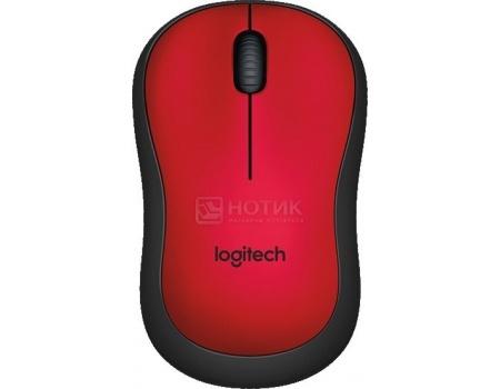 Мышь беспроводная Logitech M220 , 1000dpi, Красный 910-004880