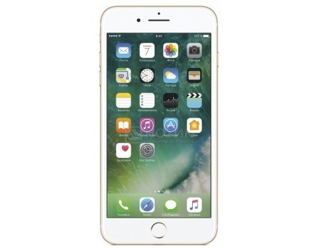 "Фотография товара смартфон Apple iPhone 7 Plus 32Gb Gold (iOS 10/A10 Fusion 2340MHz/5.5"" 1920x1080/3072Mb/32Gb/4G LTE ) [MNQP2RU/A] (48421)"