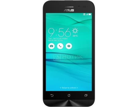 Смартфон Asus Zenfone Go ZB450KL Charcoal Black (Android 6.0 (Marshmallow)/MSM8916 1200MHz/4.5