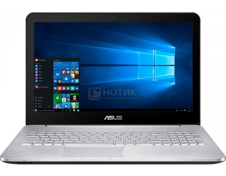 Ноутбук ASUS N552VW-FY250T (15.6 IPS (LED)/ Core i7 6700HQ 2600MHz/ 8192Mb/ HDD 1000Gb/ NVIDIA GeForce® GTX 960M 2048Mb) MS Windows 10 Home (64-bit) [90NB0AN1-M03120]