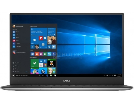 Фотография товара ультрабук Dell XPS 13 Ultrabook (13.3 IPS (LED)/ Core i7 7500U 2700MHz/ 8192Mb/ SSD / Intel HD Graphics 620 64Mb) MS Windows 10 Home (64-bit) [9360-3614] (48525)