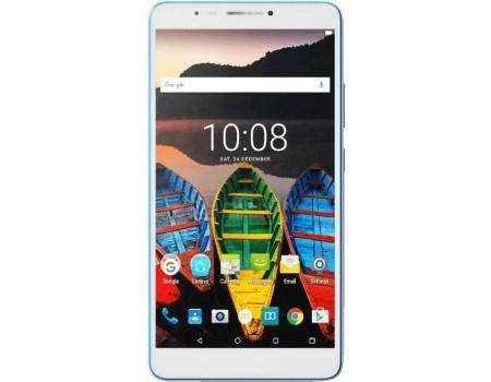 Планшет Lenovo TAB 3 Plus TB-7703X 16Gb LTE White (Android 6.0 (Marshmallow)/MSM8916 1200MHz/7.0