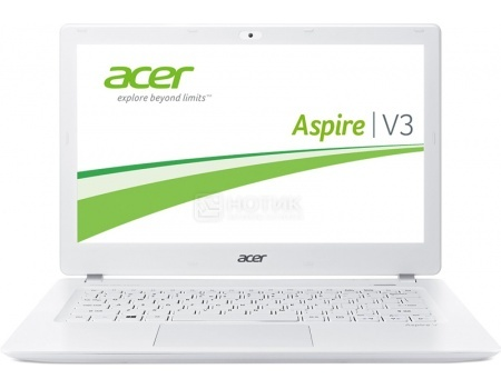 Ноутбук Acer Aspire V3-372-734K (13.3 IPS (LED)/ Core i7 6500U 2300MHz/ 8192Mb/ SSD 256Gb/ Intel HD Graphics 520 64Mb) Linux OS [NX.G7AER.015]Acer<br>13.3 Intel Core i7 6500U 2300 МГц 8192 Мб DDR3-1600МГц SSD 256 Гб Linux OS, Белый<br>