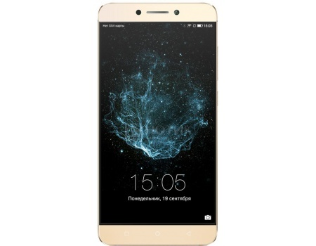 Смартфон LeEco Le 2 X527 Gold 32Gb LTE (Android 6.0 (Marshmallow)/MSM8976 1800MHz/5.5 (1920x1080)/3072Mb/32Gb/4G LTE 3G (EDGE, HSDPA, HSPA+)) [Le 2 X527]