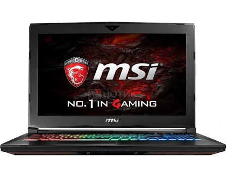 Ноутбук MSI GE62VR 6RF-261RU Apache Pro (15.6 LED (с широкими углами обзора IPS - level)/ Core i7 6700HQ 2600MHz/ 16384Mb/ HDD+SSD 1000Gb/ NVIDIA GeForce® GTX 1060 3072Mb) MS Windows 10 Home (64-bit) [9S7-16JB12-261]