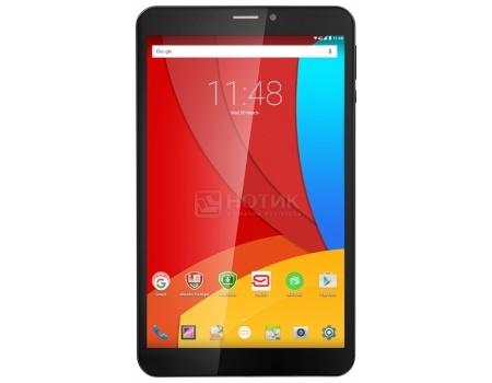 """Планшет Prestigio MultiPad Wize 3508 4G (Android 5.1/MT8735P 1300MHz/8.0"""" (1280x800)/1024Mb/16Gb/4G LTE ) [PMT35084GDBKCIS] от Нотик"""
