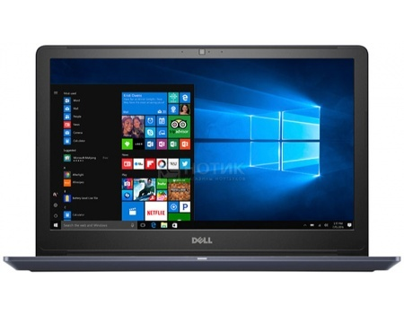 Ноутбук Dell Vostro 5568 (15.6 LED/ Core i3 7100U 2400MHz/ 4096Mb/ HDD 500Gb/ Intel HD Graphics 620 64Mb) MS Windows 10 Home (64-bit) [5568-3034]