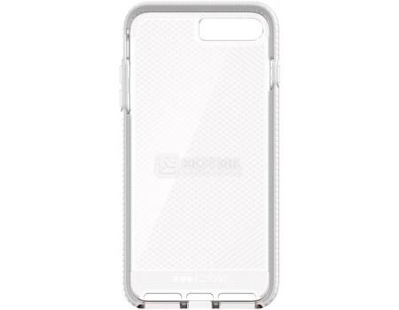 Чехол-накладка Tech21 Evo Check для iPhone 7 Plus T21-5348, Пластик, Прозрачный/Белый