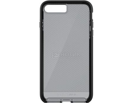 Чехол-накладка Tech21 Evo Check для iPhone 7 Plus T21-5347, Пластик, Прозрачный/Черный от Нотик