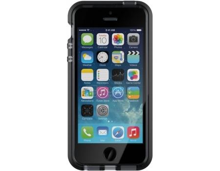 Чехол-накладка Tech21 Evo Mesh для iPhone 5/5S/SE T21-5168, Пластик, Прозрачный/Черный