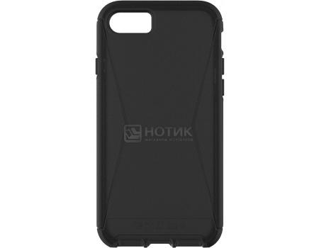 Чехол-накладка Tech21 Evo Tactical для iPhone 7 T21-5396, Поликарбонат, Черный