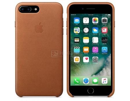 Чехол-накладка Apple Leather Case Saddle Brown для iPhone 7 Plus MMYF2ZM/A, Кожа, Коричневый
